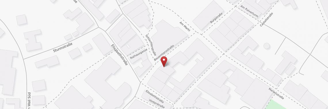 Karte Medina Markt Lingen - Bauerntanzstraße 10 - © OpenStreetMap contributors